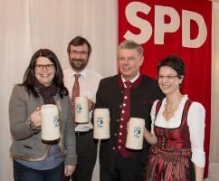 Starkbierfest 2015 mit Münchens OB Dieter Reiter 2015