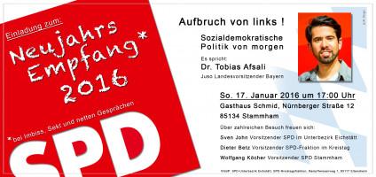 SPD-Neujahrsempfang vorne
