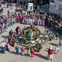 ein gelungenes Osterbrunnenfest, 2016
