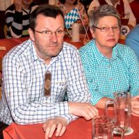 2ter Bürgermeister von Stammhamm: Wolfgang Köcher mit Gattin, 2016