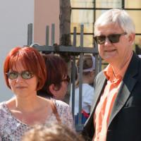 Frau Widuckel mit Kandidat, 2017