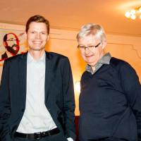 Sven John und Dr. Werner Widuckel SPD-Direktkandidat, 2017
