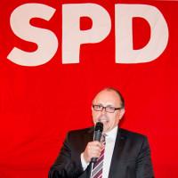 alter und neuer Vorsitzender der Köschinger SPD, Dieter Betz, 2017