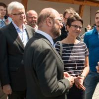 Prof. Dr. Werner Widuckel, Andrea Ernhofer und Martin Schulz