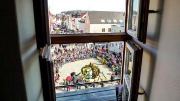 Überblick vom Rathaus