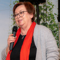 Begrüßung durch die Vorsitzende Annemarie Pietzonka