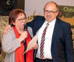 ein Dankeschön auch an den Ortsvereinsvorsitzenden Dieter Betz