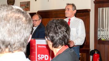 kurze Rede von SPD Landratskandidat Dr. Bernd Weber
