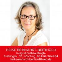 Heike Reinhardt-Berthold, Integrationsbeauftragte
