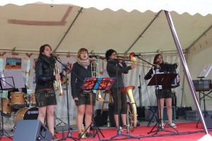 AGS FestMiteinander 2012 Musikgruppe Blechbixn
