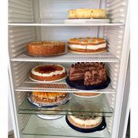reichliche Kuchenauswahl