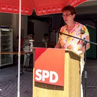 Rednerin Irmgard Hofmann 2015
