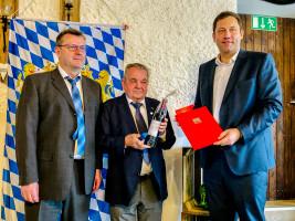 50 Jahre SPD Mitgliedschaft Adolf Rackl