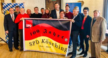 100 Jahre SPD Kösching