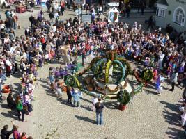 ASF Osterbrunnenfest Marktplatz