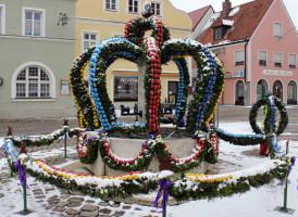 ASF Osterbrunnenfest 2013 Marktplatz