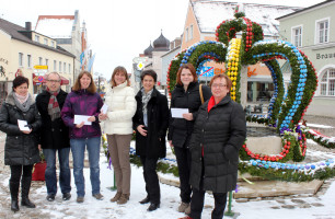 ASF Osterbrunnenfest 2013 Spendenübergabe