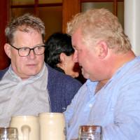 rechts Peter Landisch, der bei den World Games Special Olympics in Abu Dhabi dabei war