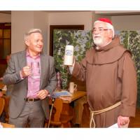 Horst Arnold mit Pater Barnabas alias Dr. Manfred Schuhmann