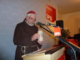 SPD Starkbierfest mit Traditionsgast Bruder Barnabas