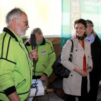 Schirmherrin SPD Bürgermeisterin Andrea Ernhofer