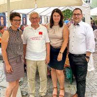 Andrea Ernhofer, Alfred Schlachtmeier, Andrea Mickel, Christian De Lapuente